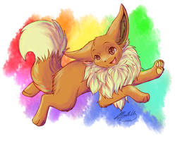 Eevee! by MaeMusicMelody