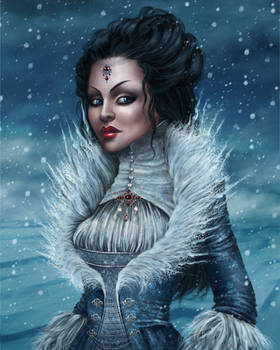 Snow Queen for Painter