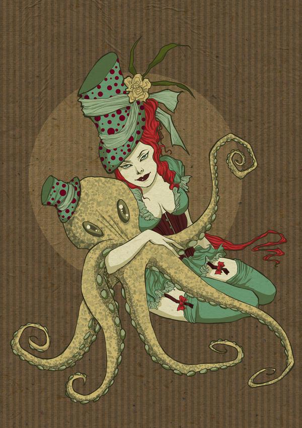 An octopus dream. by vinegar