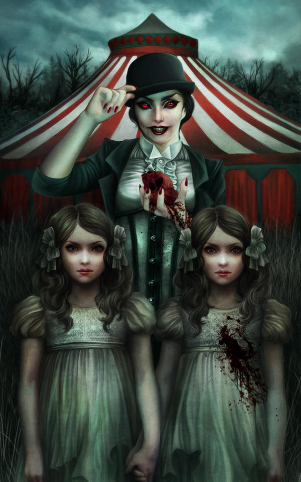 Demonic Circus by vinegar