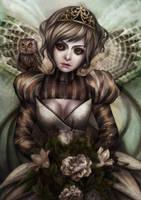 The Owl by vinegar