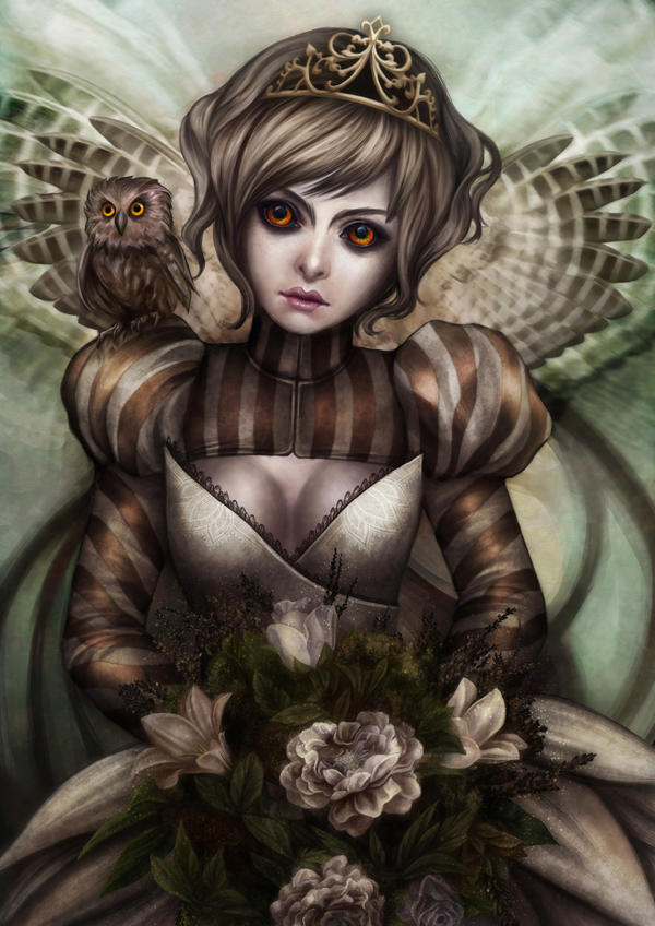 hoo princess owl the owl by vinegar on deviantart