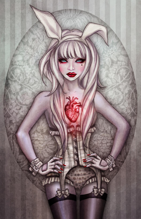 Rabbit Heart by vinegar
