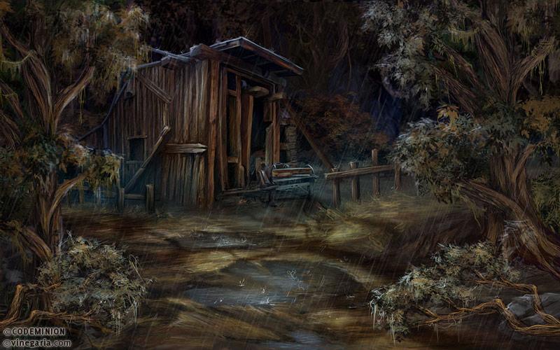 Phantasmat CA. Sawmill by vinegar