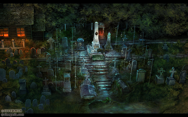 Phantasmat CA. Cemetery by vinegar