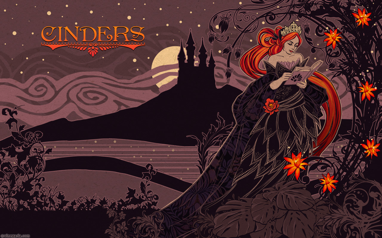Cinders - menu by vinegar