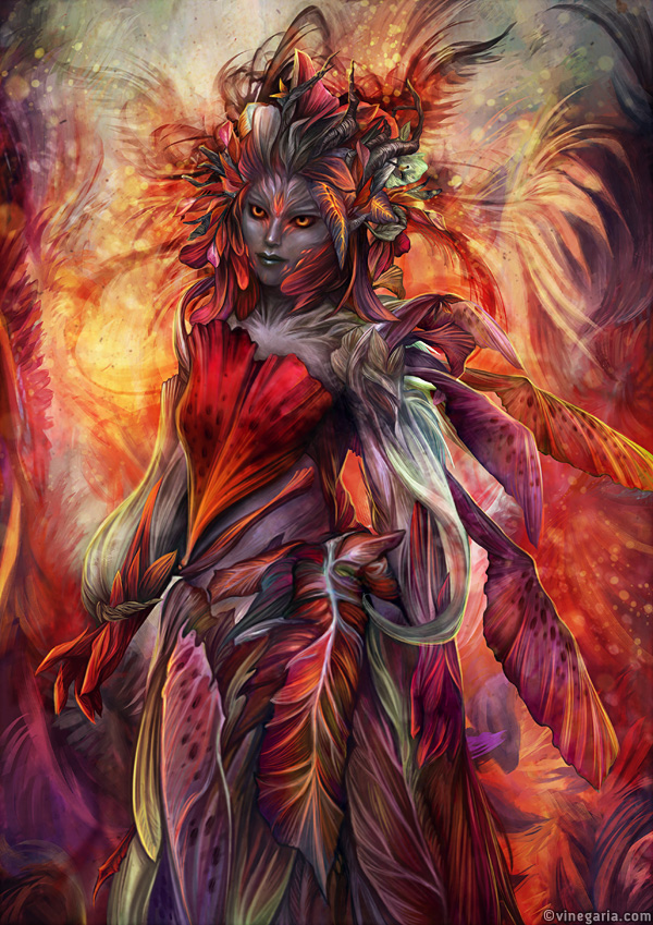 Sylvari inspired by vinegar