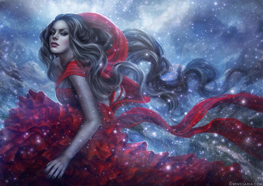 Scarlet Winter by vinegar