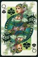Queen of Spades by vinegar