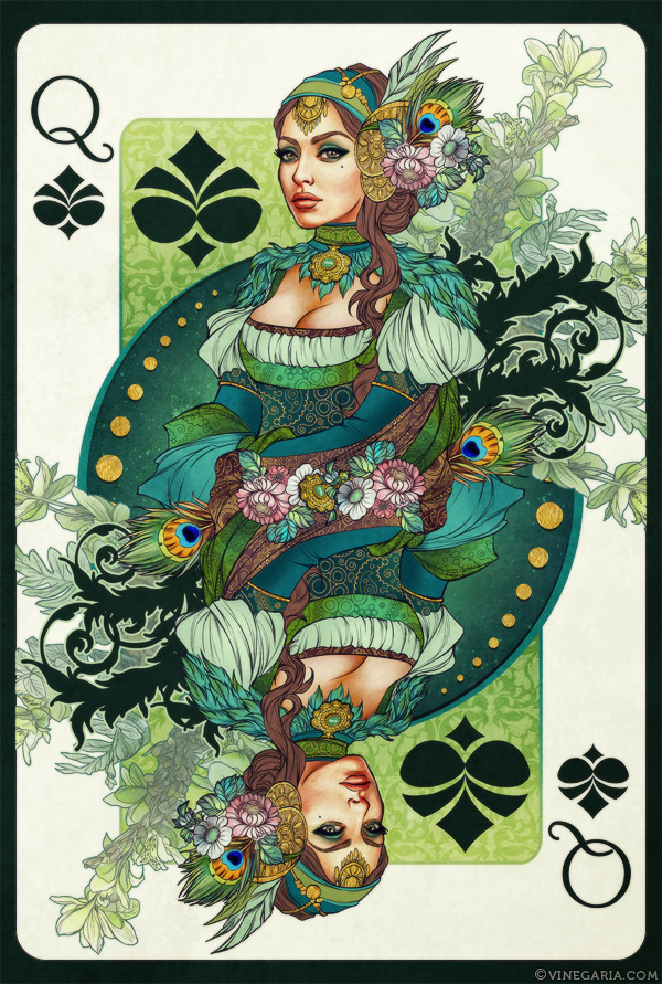 Queen of Spades by vinegar