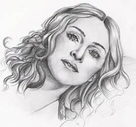 Madonna sketch.. by vinegar
