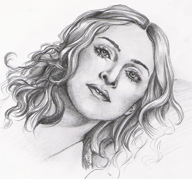 Madonna sketch.. by vinegar