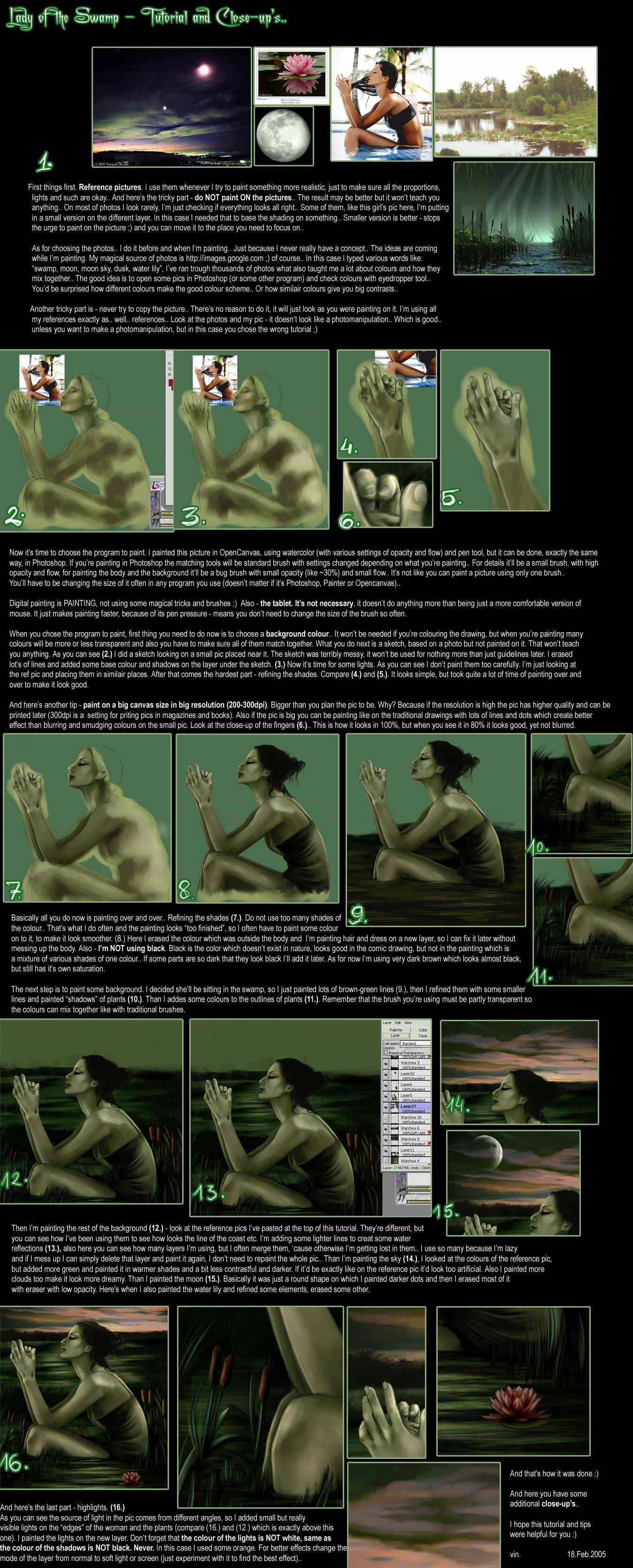 TUTORIAL - digital painting.