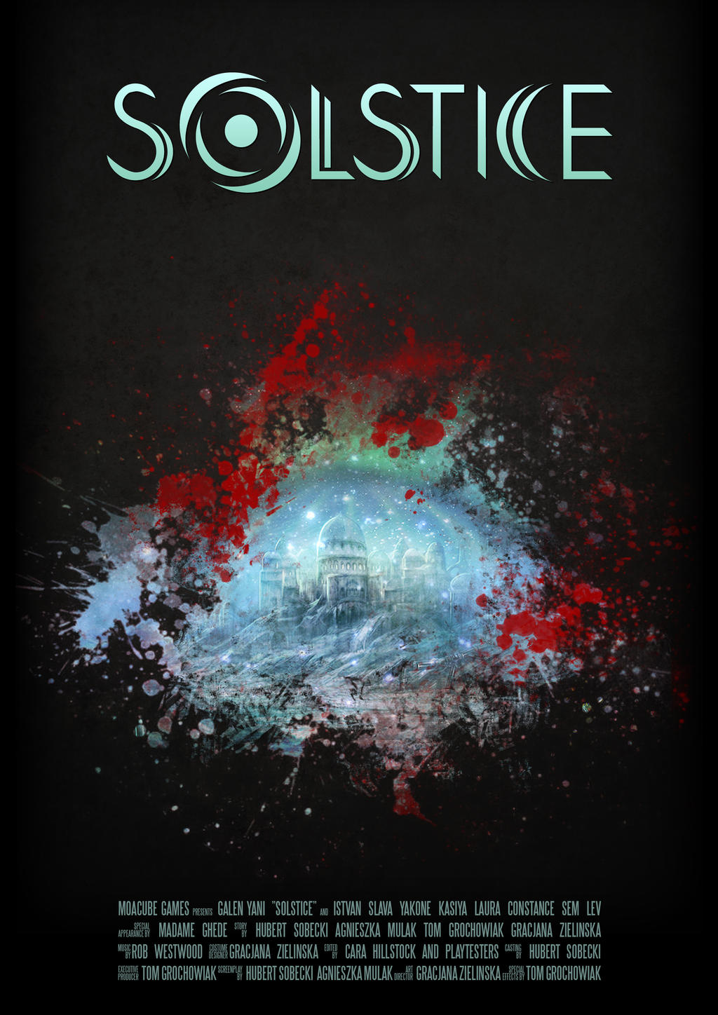 Poster design game -  Solstice Movie Game Poster By Vinegar