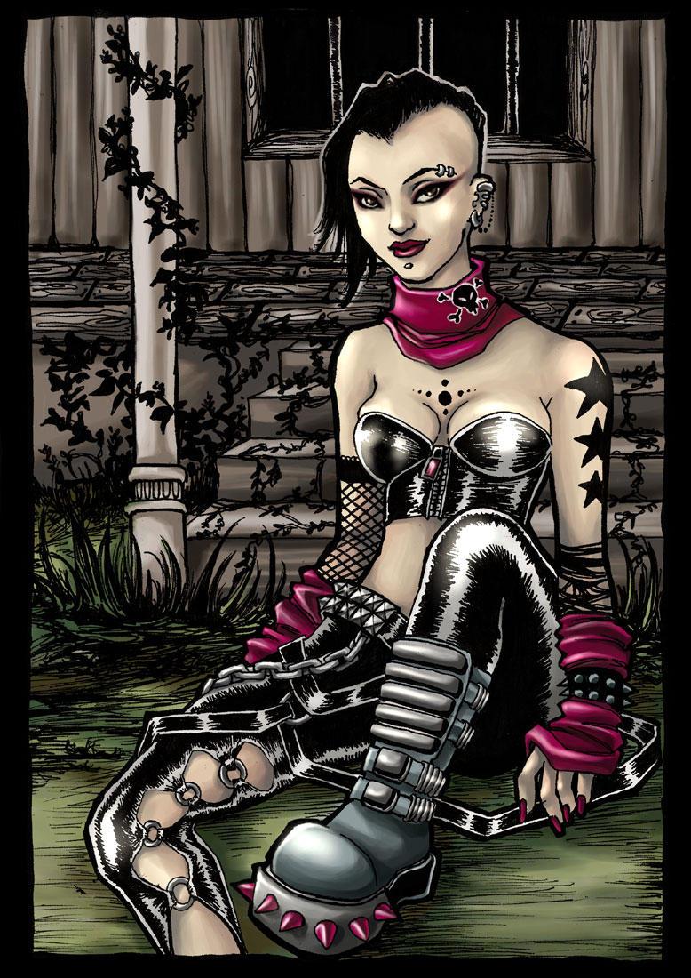 Nina Mae. by vinegar