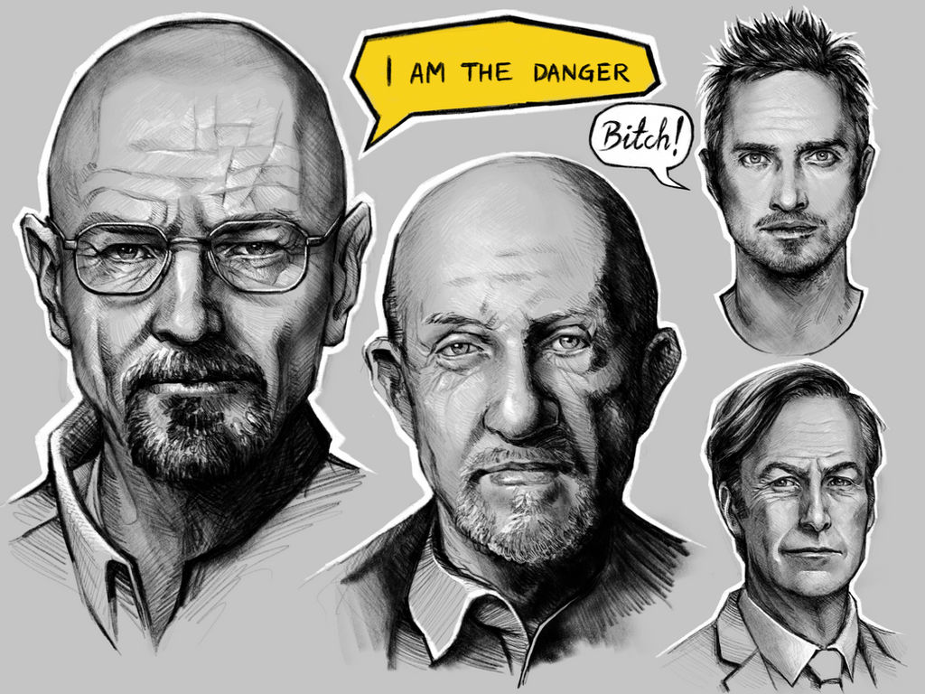Breaking Bad tribute by vinegar