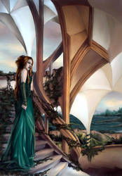 .: forgotten stairway :. by vinegar