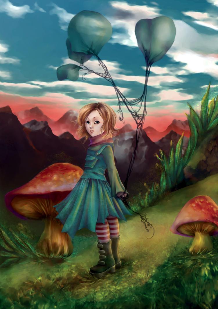 .: mushroom hideout :. by vinegar