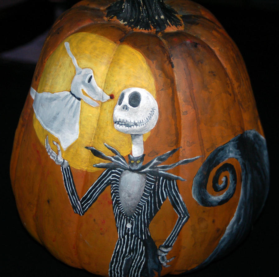... Nightmare Before Christmas Nightmare Before Christmas Painted Pumpkin Nightmare Before Christmas Pumpkin Patch Drawing