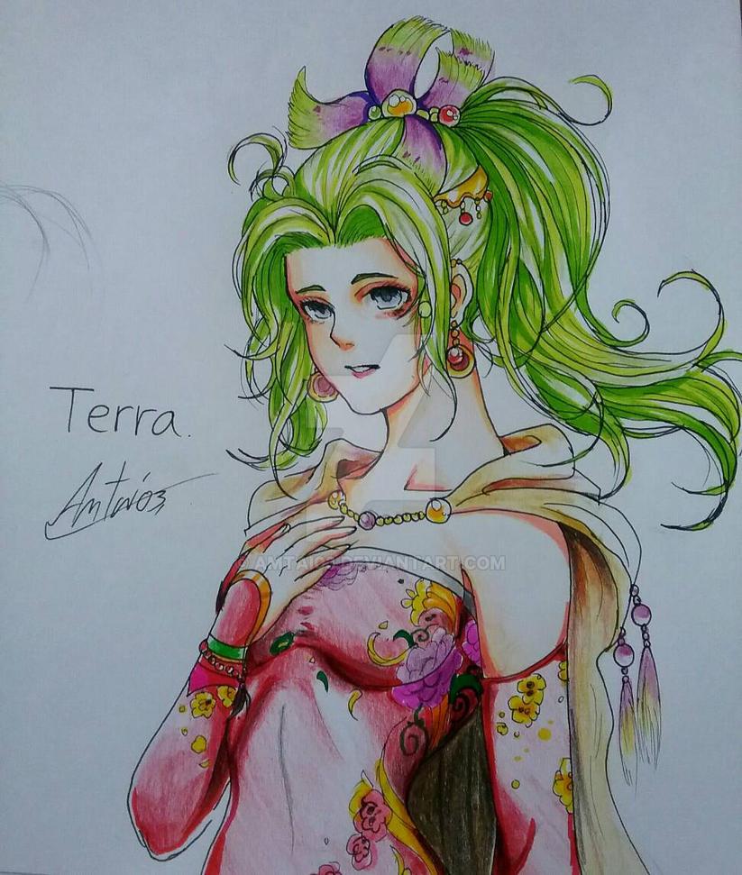 Final Fantasy VI : Terra Branford by Amtai03