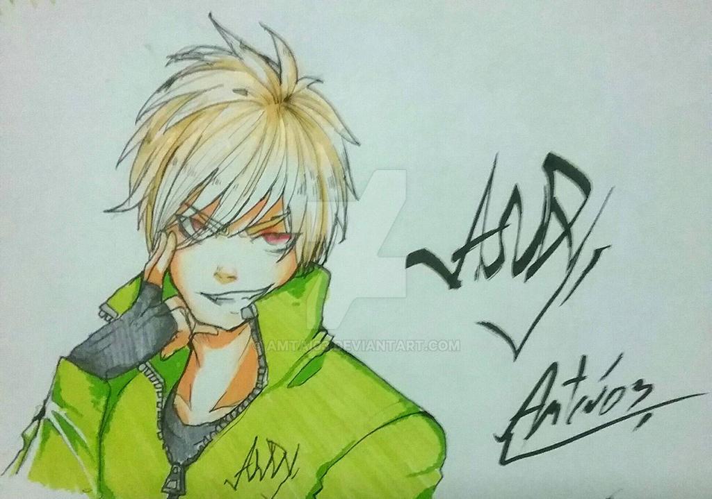 Andy Law. (Fanart) by Amtai03