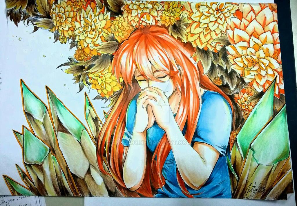 Deemo x Braindead13 : Marigold. by Amtai03