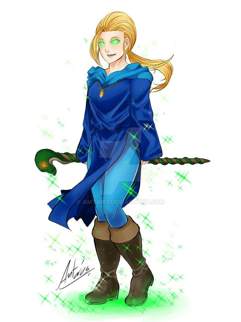 Eternal Champions : Xavier Pendragon. (Female) by Amtai03
