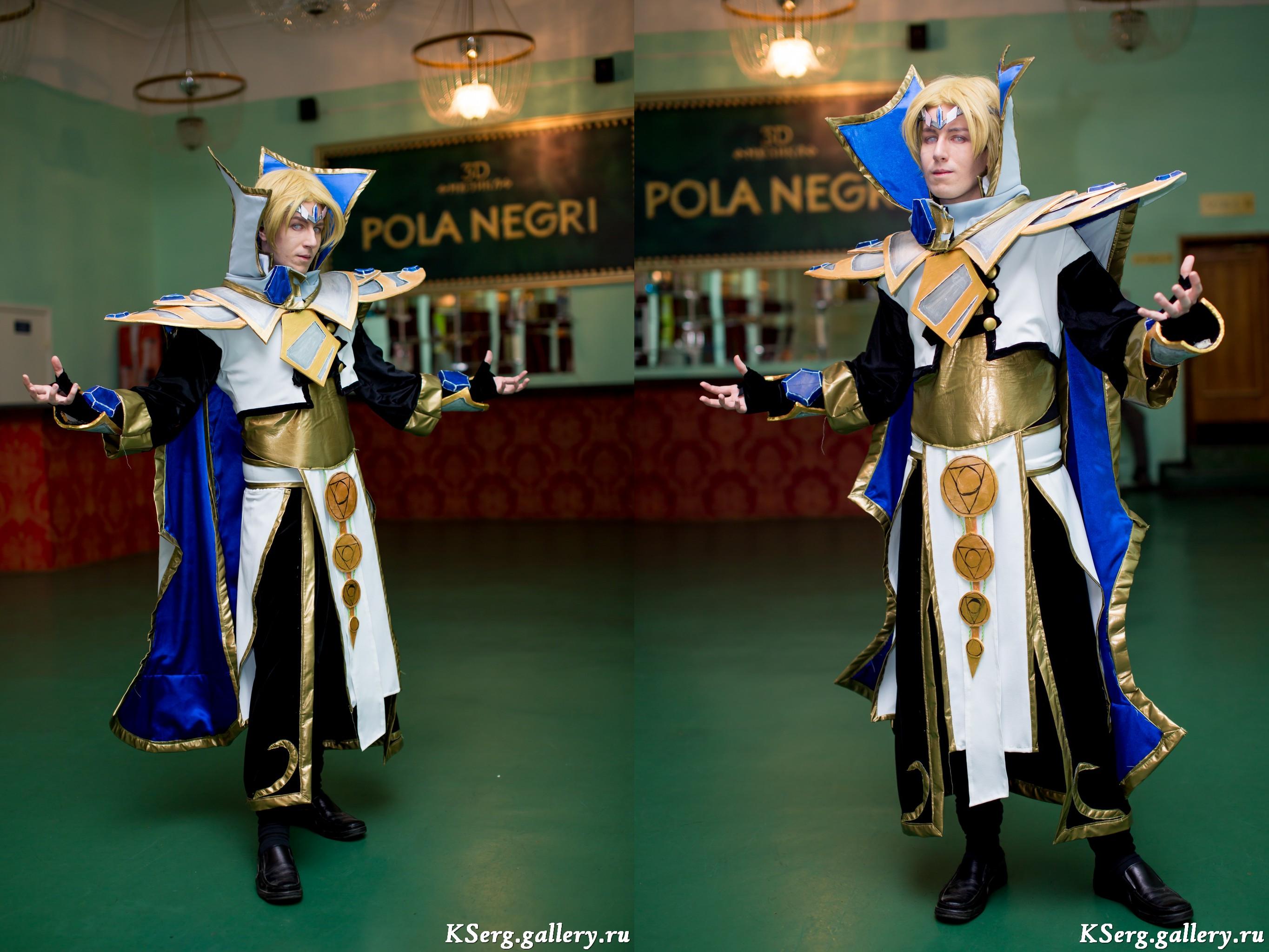 dota 2 invoker iceforged set cosplay by blackconvoy on