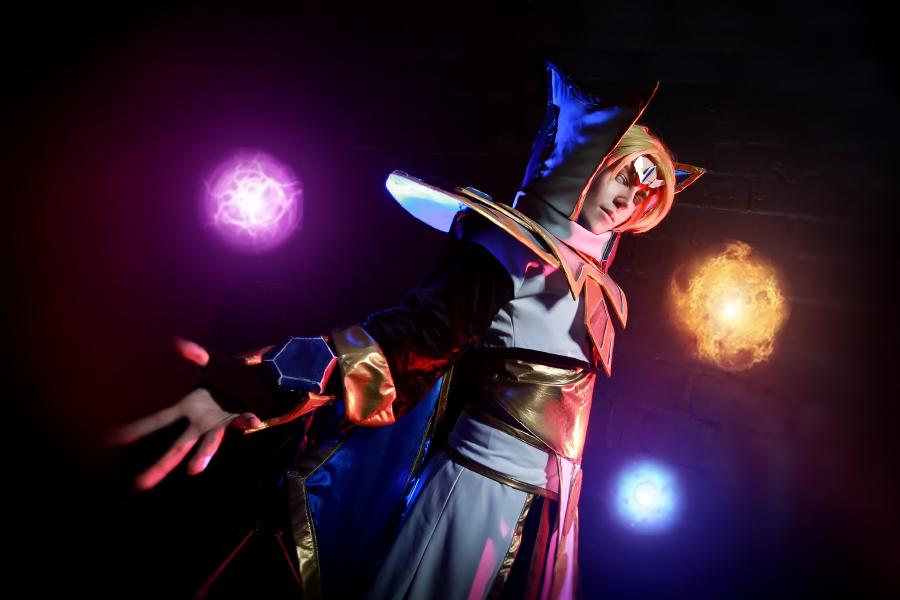 dota 2 iceforged invoker cosplay by blackconvoy on