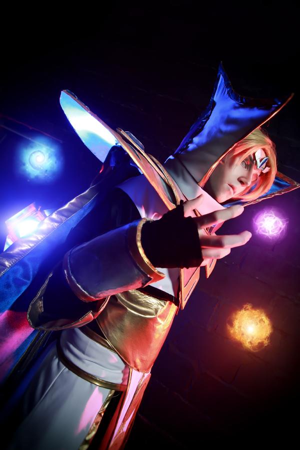 Dota 2 - Iceforged Invoker cosplay by BlackconvoyInvoker Dota 2 Cosplay