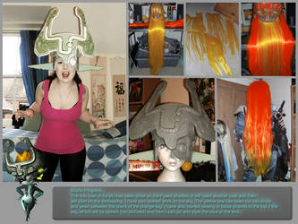 Midna Cosplay - Progress 2 by Lil-Miss-Macabre