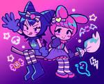 happy halloween! kuromi/melo