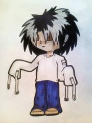 Crazy little dude by SasoriSempai