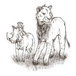 If Lionking would be truestory by riikka