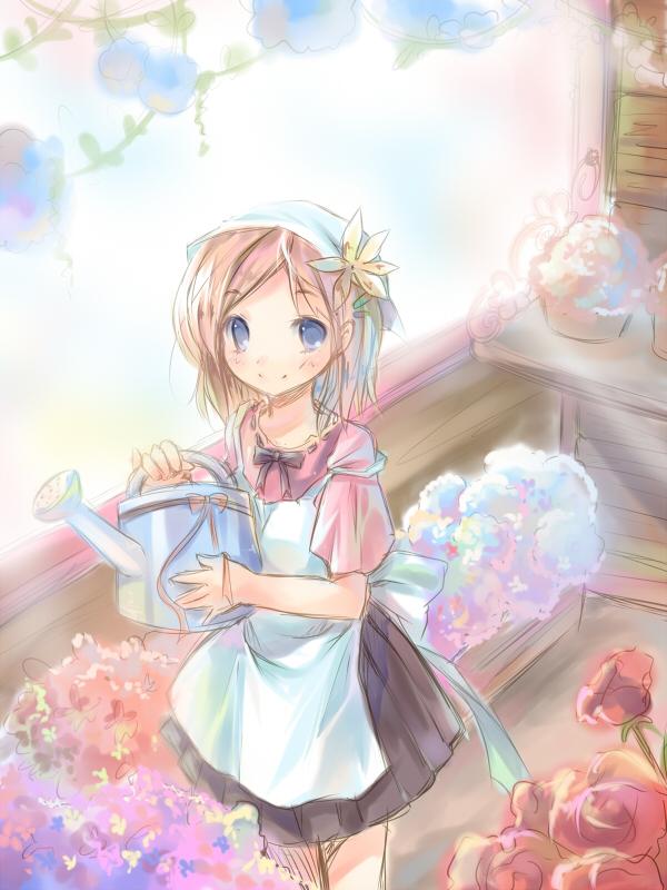 random girl6 by ninjinshiru