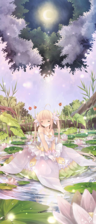 Shyly Shiny water Lilly by ninjinshiru