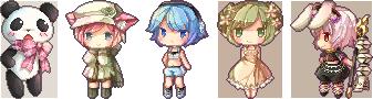 Pixel Batch1 by ninjinshiru