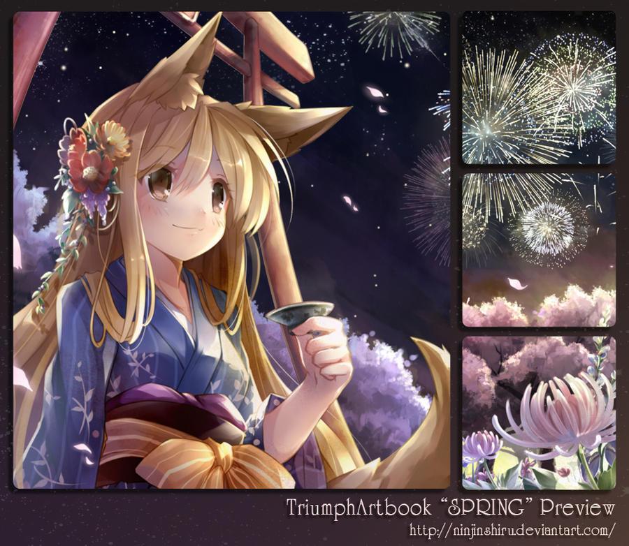 Preview Bloomy Fiery Night by ninjinshiru