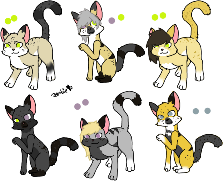 Nankou x Un-named Litter - closed by KittehzAdopts