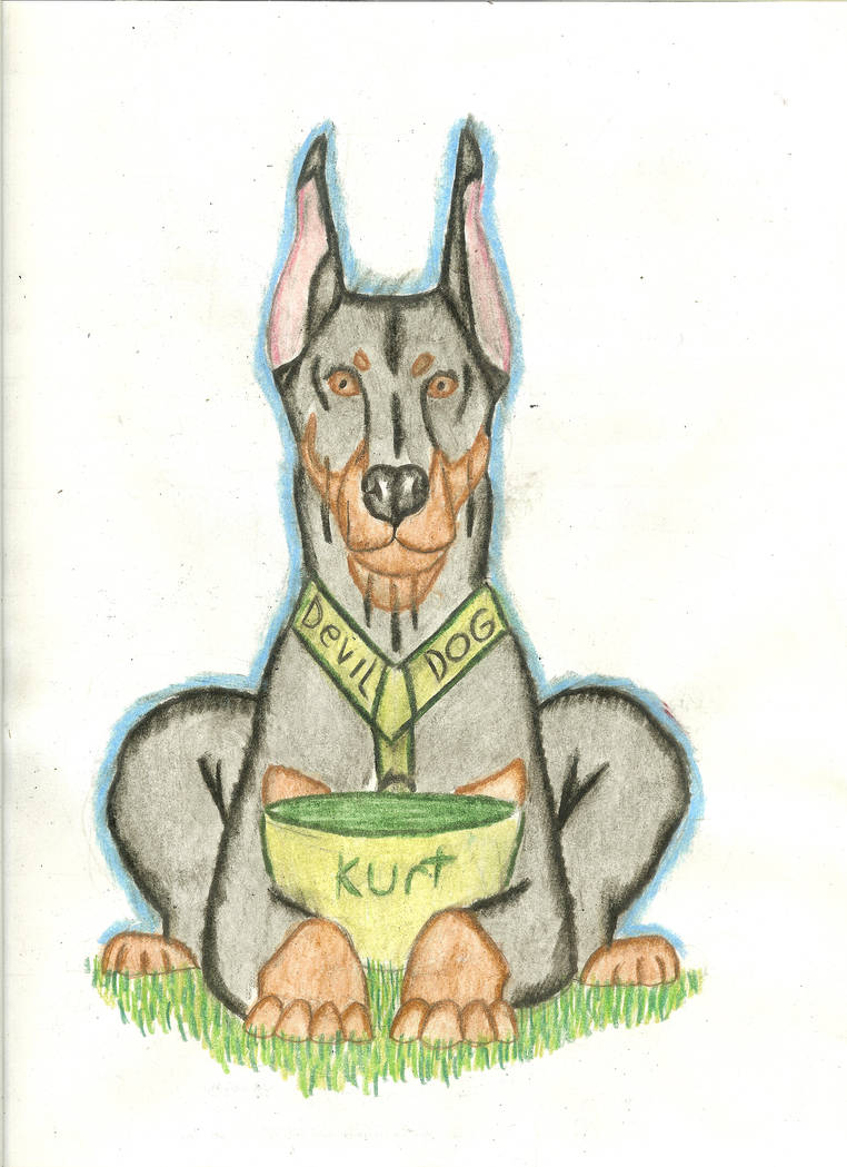 Kurt the doberman(WWII war dog) by RoseMoon27 on DeviantArt
