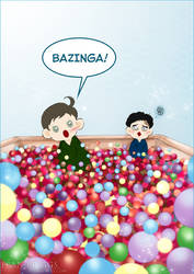 BAZINGA by fran-briggs