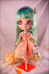 Green Elf Girl by fran-briggs