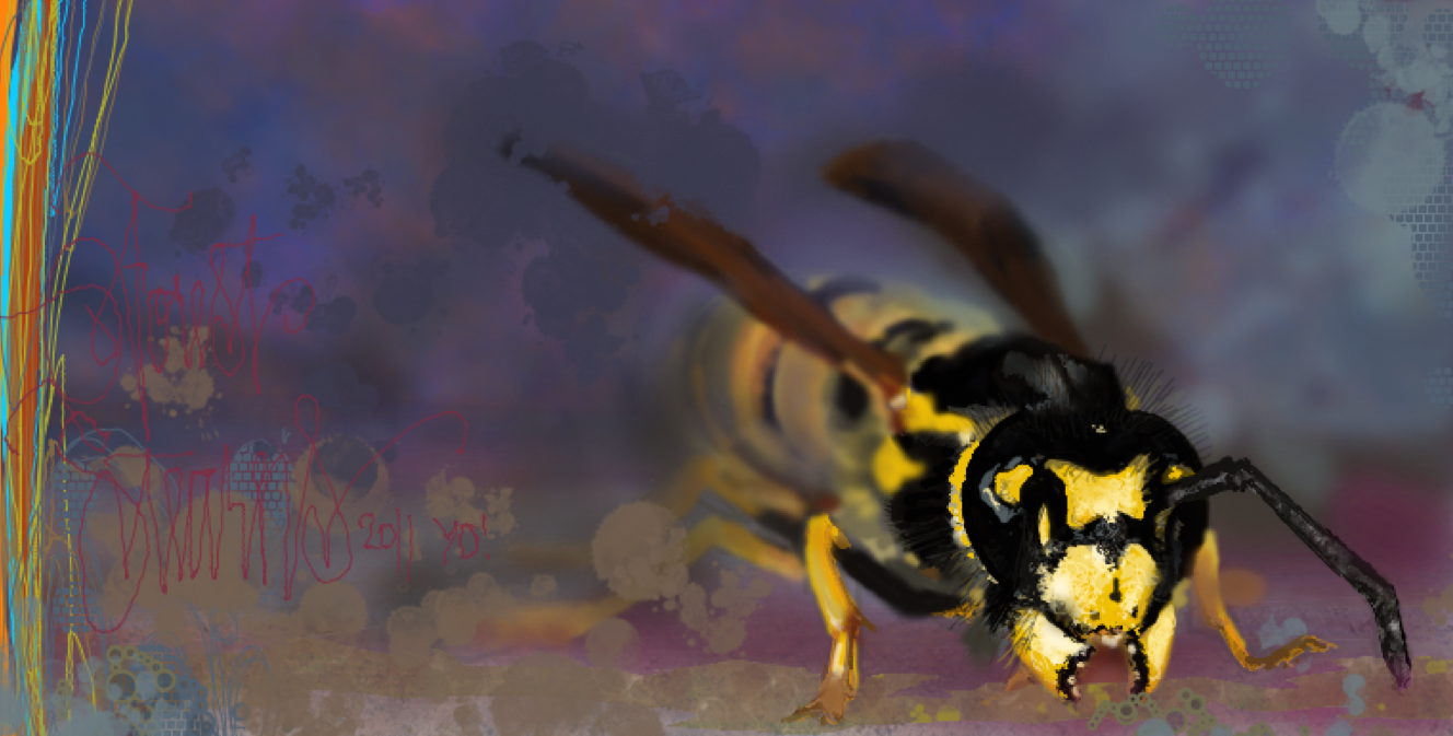 Killa Beez in dAmuro's Nest by draweverywhere