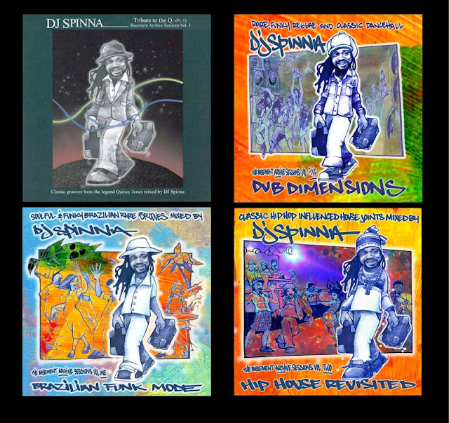 DJ-Spinna-Covers by `draweverywhere
