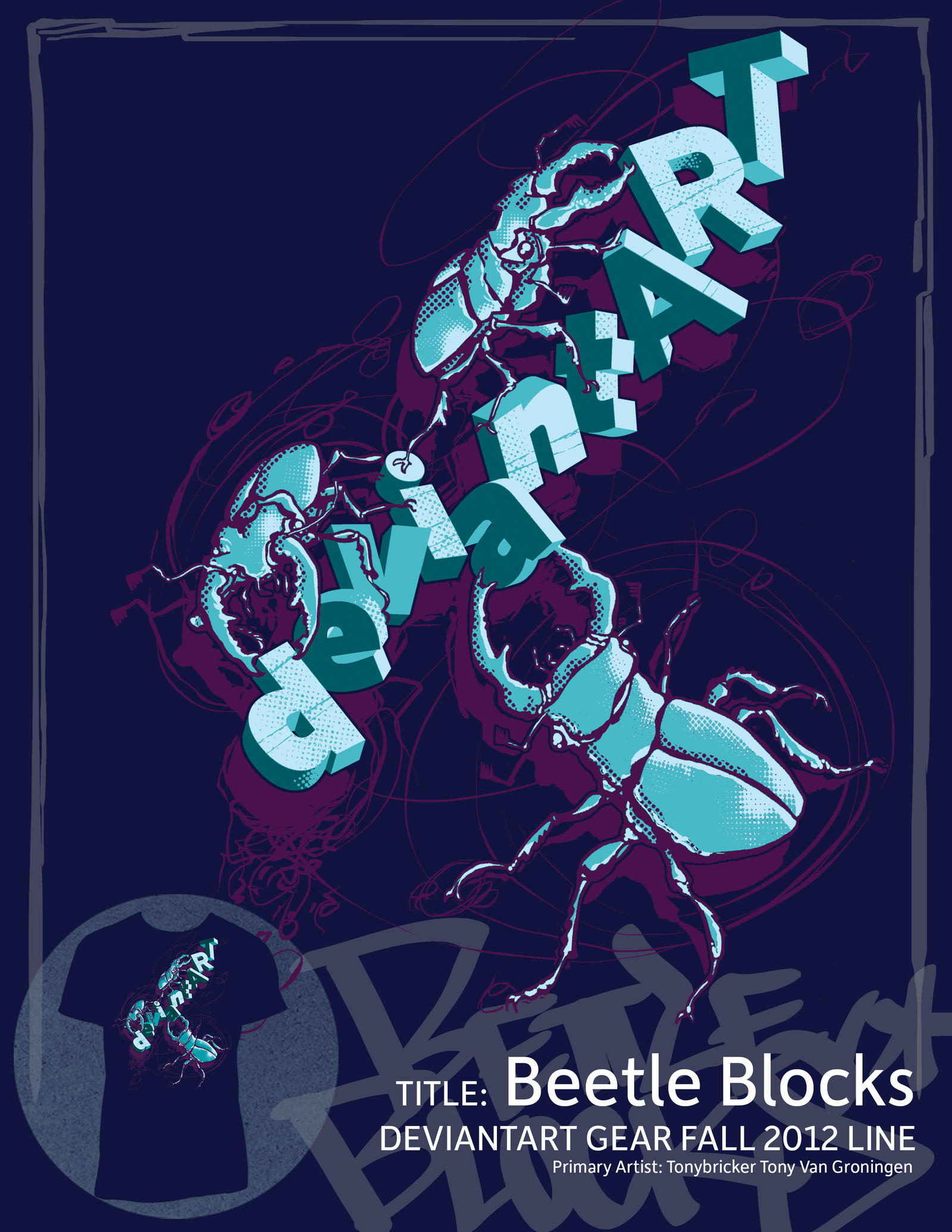 Beetle Blocks by draweverywhere