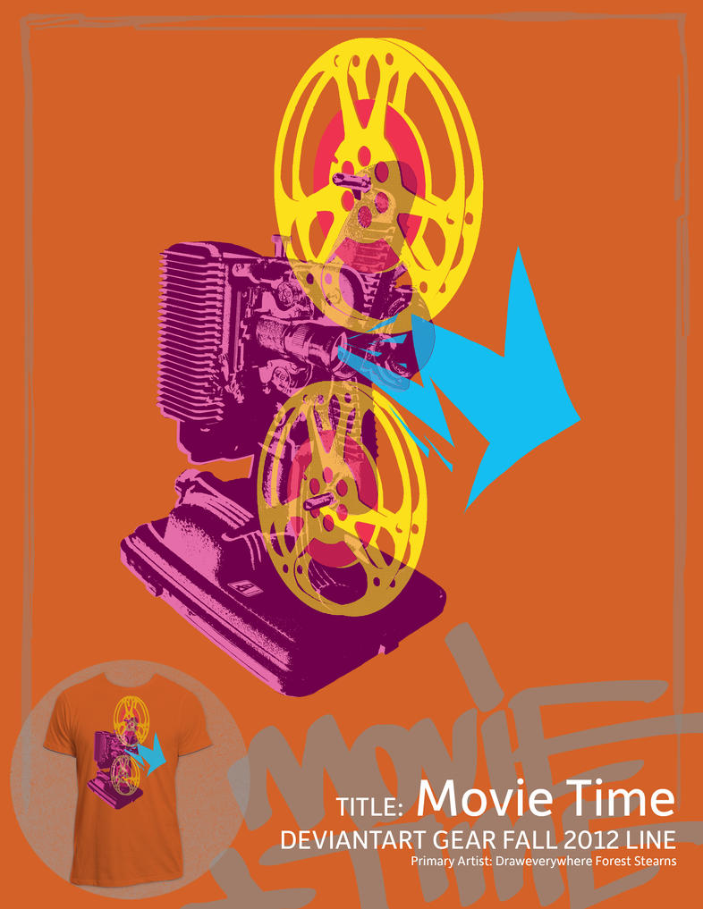 Movie Time by draweverywhere