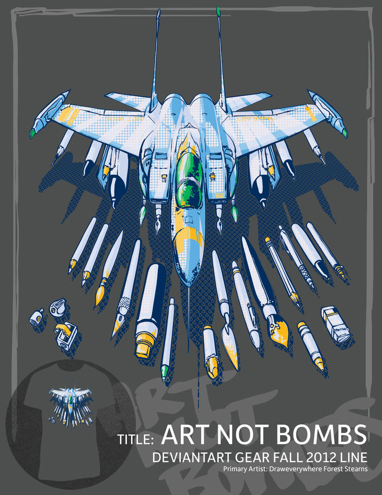 Art Not Bombs by draweverywhere