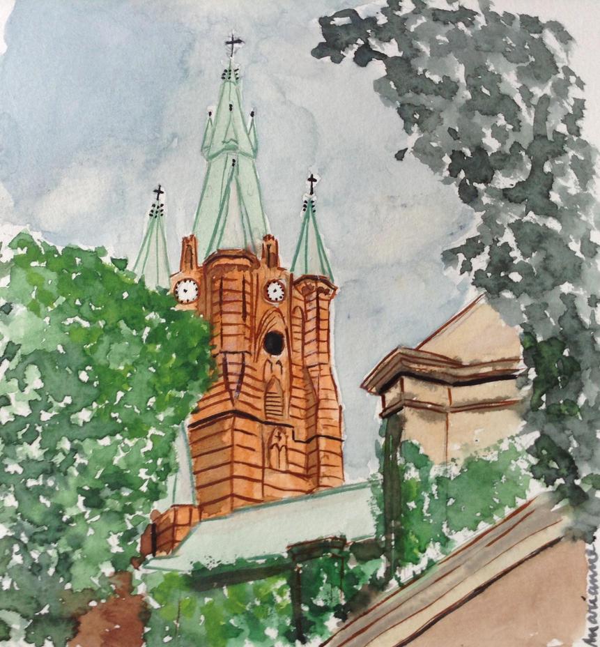 St Klara, Stockholm by Keelaa1989