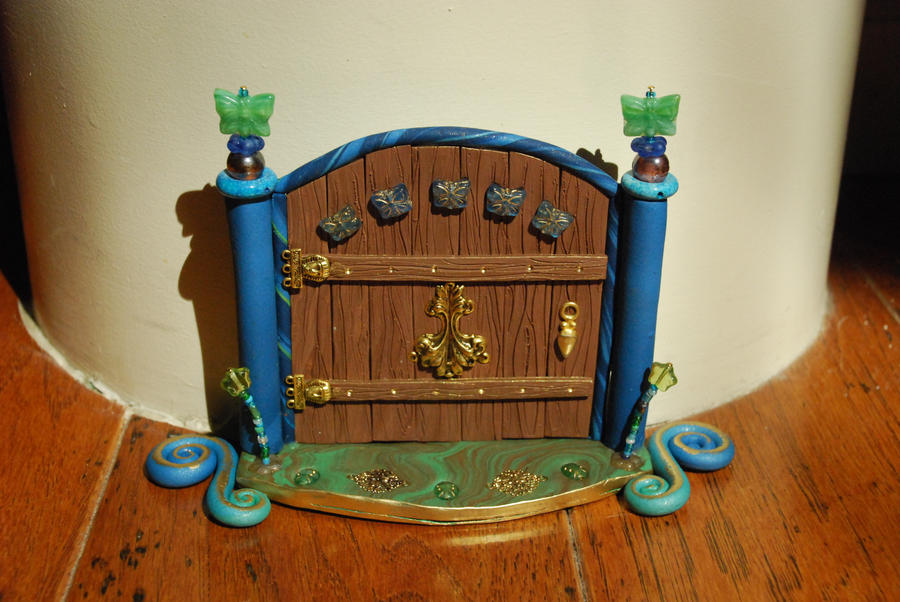 Butterfly Fairy Door by No-Avail