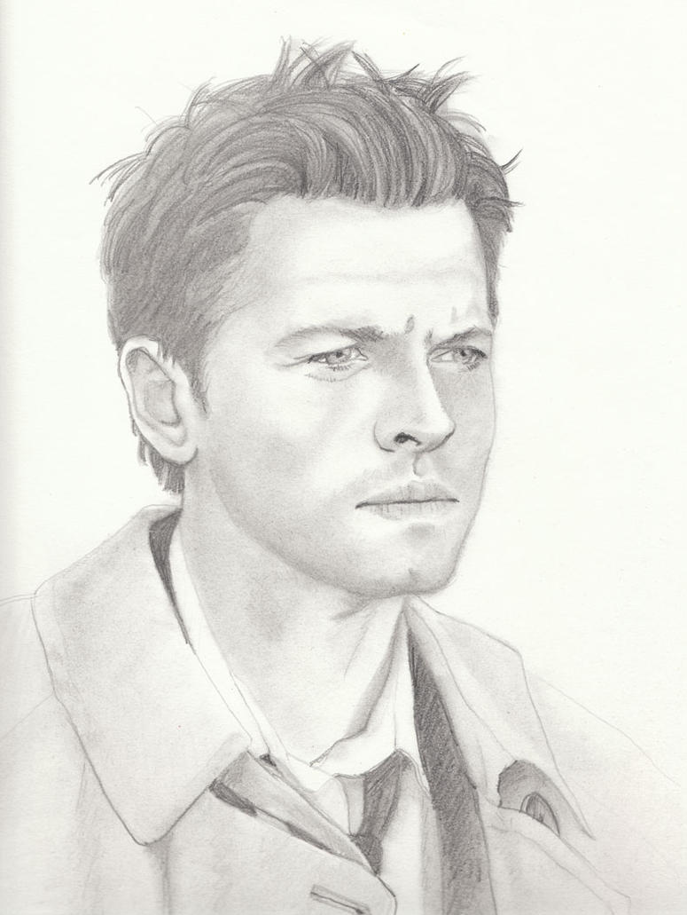 Castiel: Misha Collins by kumitawapa